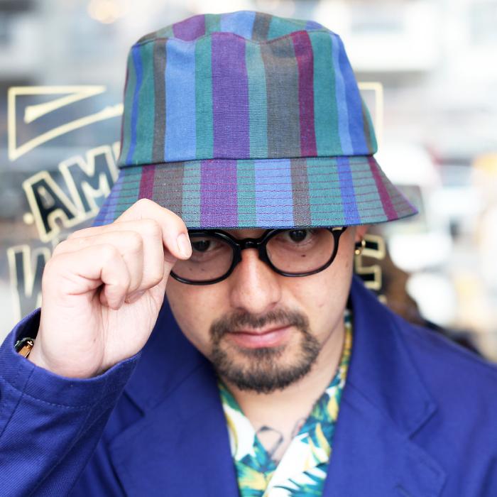 KIJIMA TAKAYUKI × The Stylist Japan  「STRIPE BUCKET HAT 」 ストライプバケットハット