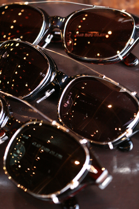 "GLAD HAND×丹羽雅彦 「J-IMMY & CLIP ON GLASSES ""SILVER""」 眼鏡"