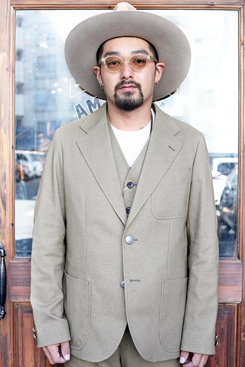 The Stylist Japan/ザスタイリストジャパン   「 HOPSACK 2B JACKET 」   ホップサックジャケット