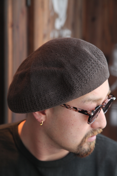 TROPHY CLOTHING/トロフィークロージング  「Rusel Basque」  ベレー帽