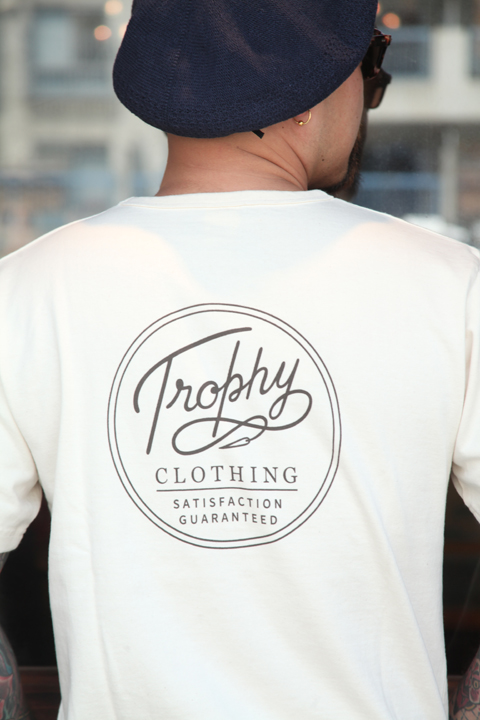 TROPHY CLOTHING/トロフィークロージング  「Circle OD Pocket Tee」  サークルロゴTシャツ
