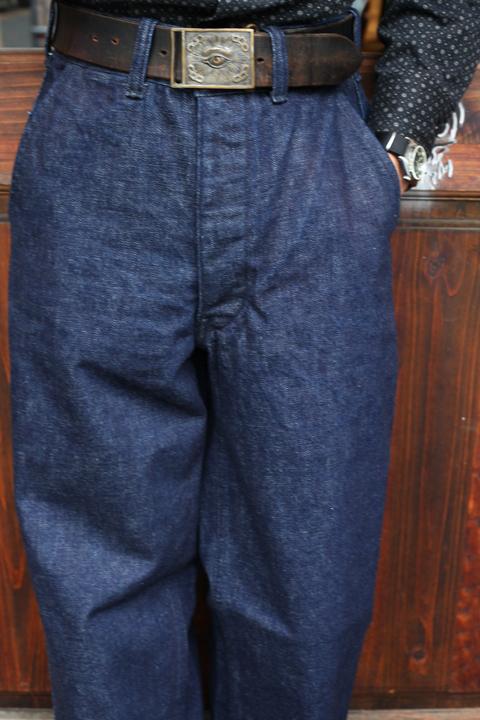 BLACK SIGN/ブラックサイン  「15oz Denim Marine Trousers」  デニムトラウザース