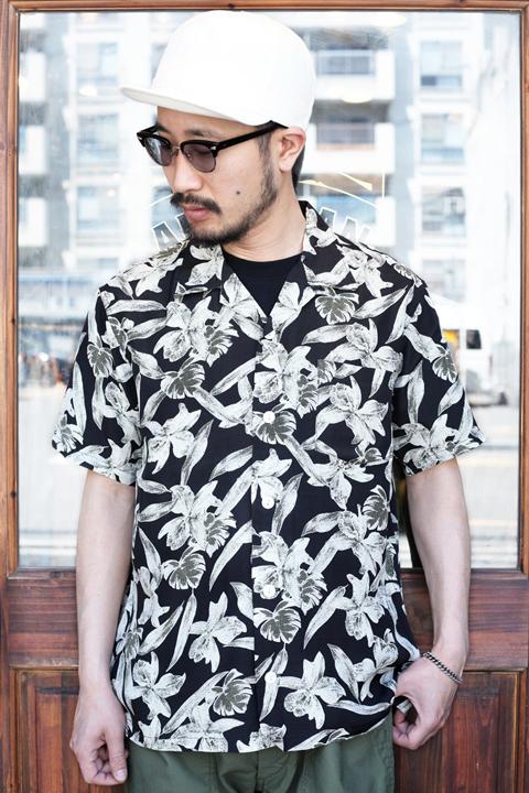 TROPHY CLOTHING/トロフィークロージング  「Duke Hawaiian S/S Shirt」  アロハシャツ