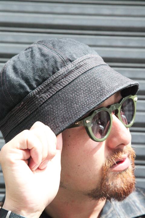 TROPHY CLOTHING/トロフィークロージング  「Denim Sailor Hat」  セーラーハット