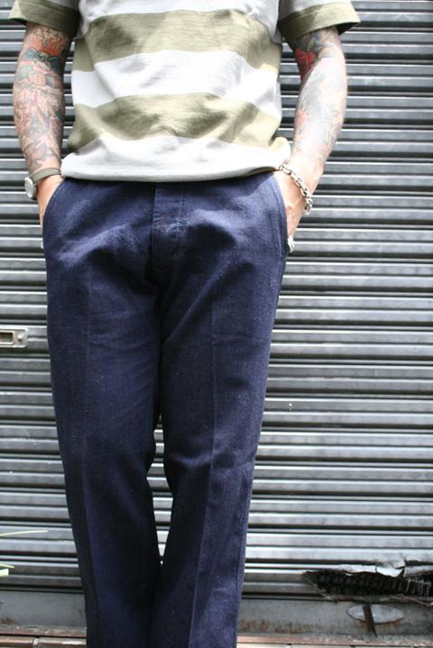 TROPHY CLOTHING/トロフィークロージング  「47Civilian Mil Denim Pnats」  シビリアンミルデニムパンツ
