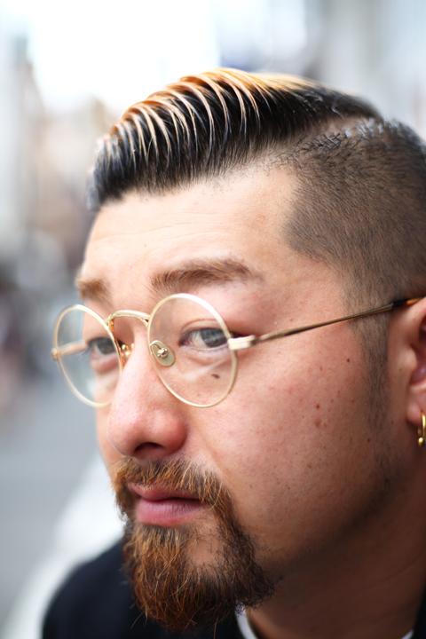 GROOVER × AMERICAN WANNABE    「JOHAN American Wannabe 別注」    メタル製ラウンド眼鏡