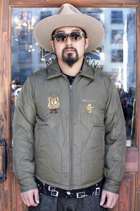WEIRDO/ウィアード   「WEIRDOZ -QUILTING JACKET」   キルティングジャケット