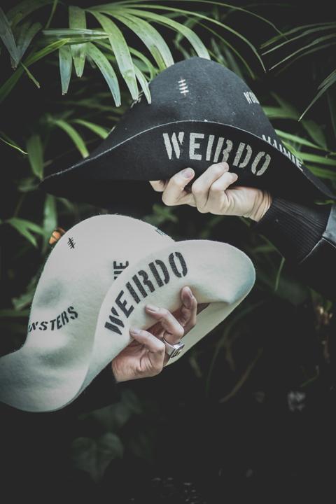 WEIRDO/ウィアード   「MONSTERS - HAT」  エドロスタイプフェルトハット