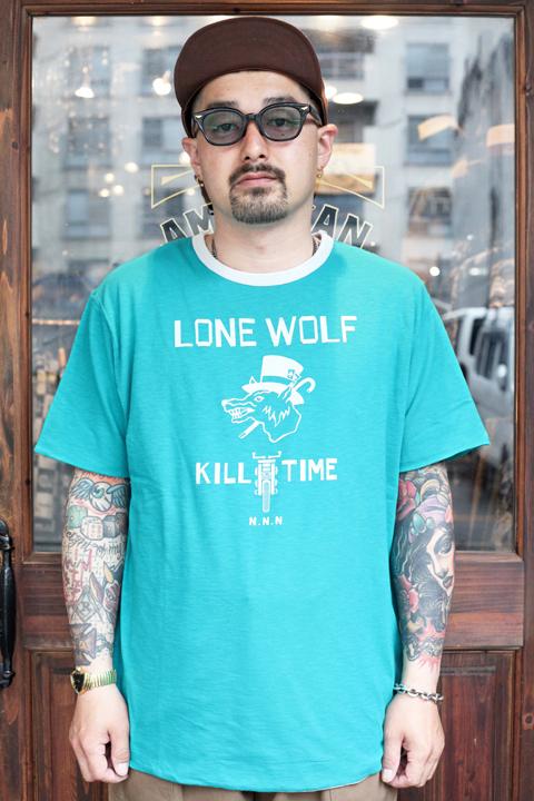 NORTH NO NAME/ノースノーネーム 「LONE WOLF REVERSIBLE T」 リバーシブルティーシャツ