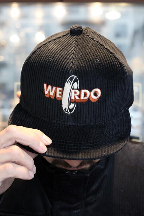WEIRDO/ウィアード  「 NON SKID - CORDUROY CAP 」 コーデュロイキャップ