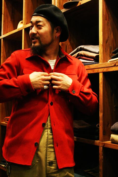 Sadistic Bear  「CPO JACKET」  CPOシャツジャケット