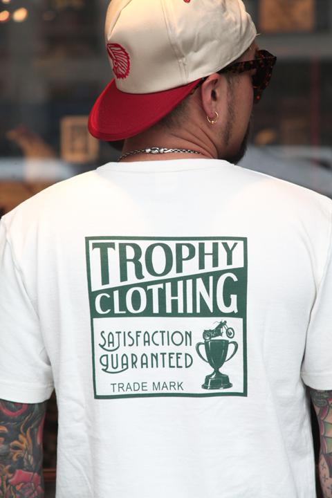 TROPHY CLOTHING/トロフィークロージング  「Box Logo Tee」  ボックスロゴTシャツ
