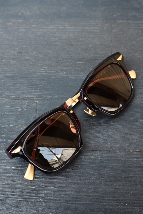 GROOVER/グルーバー    「LITMUS」    アセテート×メタル製眼鏡