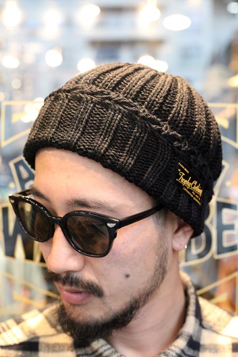 TROPHY CLOTHING/トロフィークロージング  「Low Gauge Knit Cap」 ローゲージニットキャップ