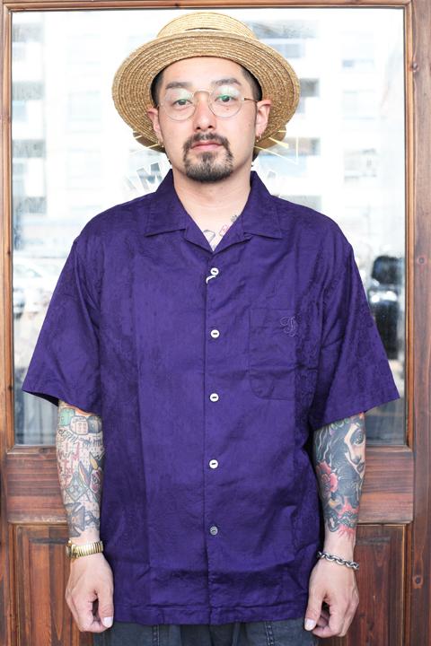 The Stylist Japan/ザスタイリストジャパン 「OPEN COLLAR PAISLEY SHORT SLEEVE SHIRT」  オープンカラーペイズリーシャツ