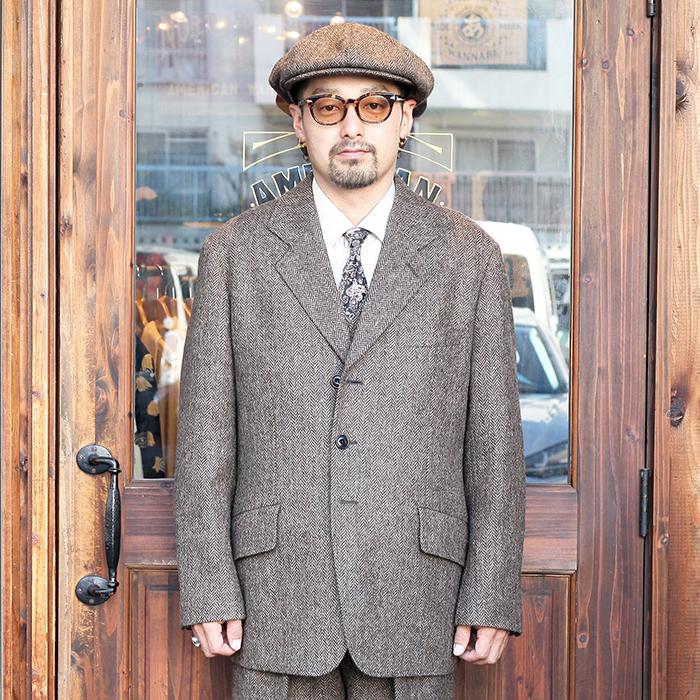 The Stylist Japan/ザスタイリストジャパン 「BRITISH HERRINGBONE JK」  ブリテッシュヘリンボーンジャケット
