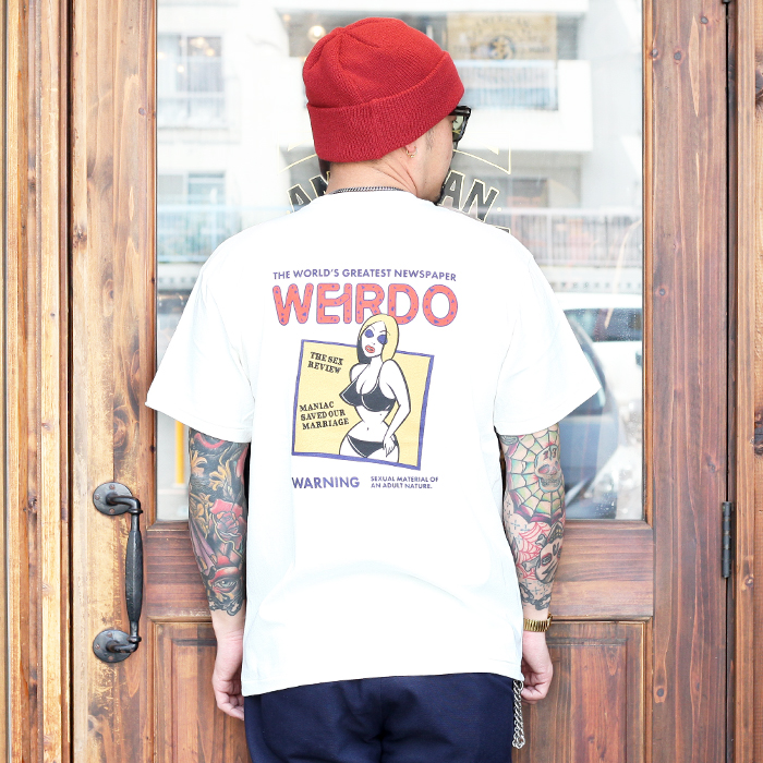 WEIRDO/ウィアード 「PORN WEIRDO - S/S T-SHIRTS 」 クルーネック S/S TEE