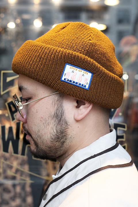 WEIRDO/ウィアード  「 SPICE OF LIFE - KNIT CAP 」 ニット帽