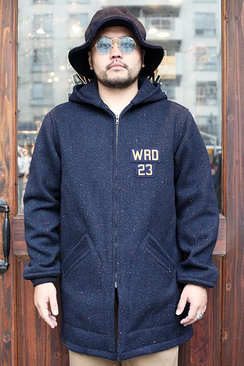 WEIRDO/ウィアード 「 JUST LOOKING - CADET COAT 」  カラーネップカデットコート