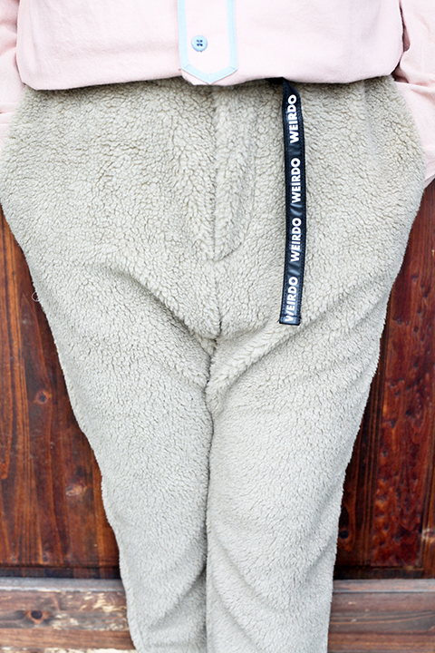 WEIRDO/ウィアード   「 SPICE OF LIFE - EASY BOA PANTS 」 イージーボアパンツ