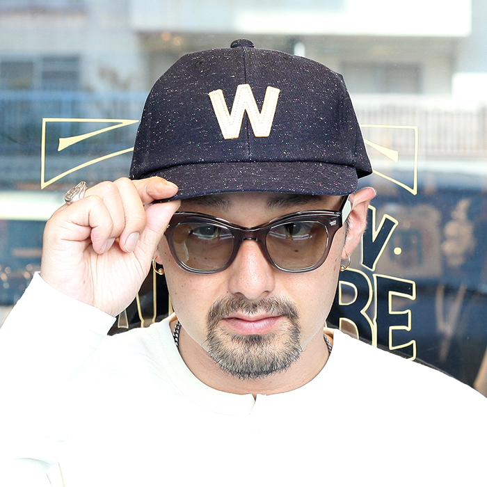 WEIRDO/ウィアード 「W - CAP」 ワッペンキャップ
