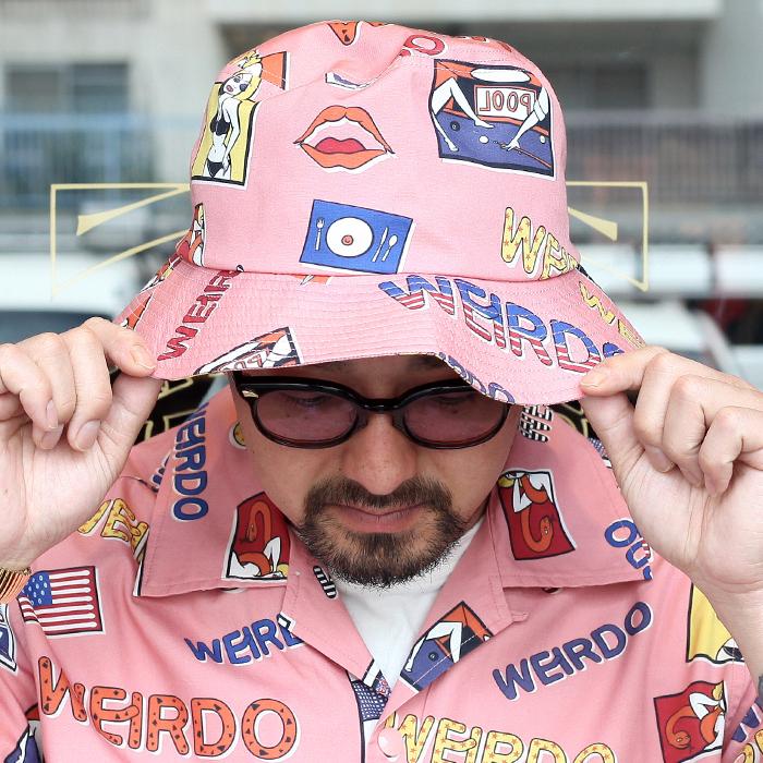 WEIRDO/ウィアード 「 PORN WEIRDO - HAT 」  バケットハット