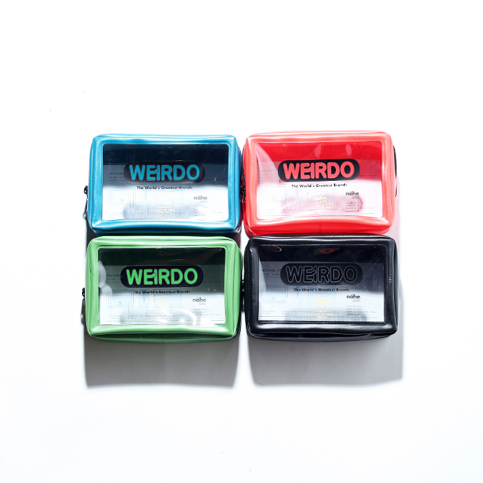 WEIRDO/ウィアード 「 PORN WEIRDO - PACKING POUCH  (SMALL) 」  パッキングポーチ