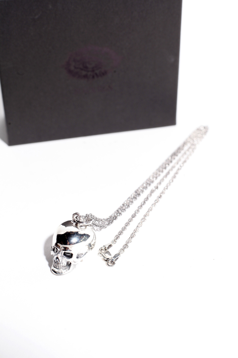 BLACK SIGN/ブラックサイン 「Poison in the Brain Silver Neckless Charm」  シルバーネックレス