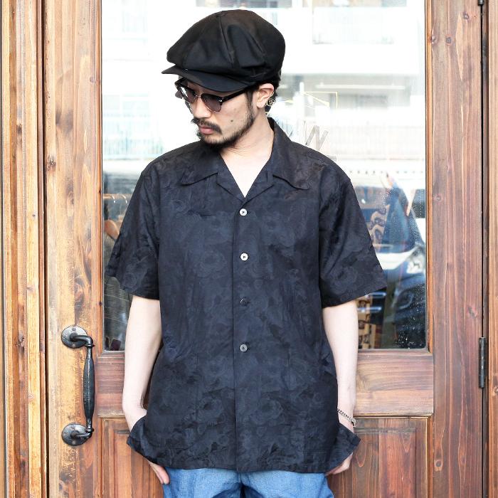 BLACK SIGN/ブラックサイン 「 Black Tiger Travel Shirt 」 ブラックタイガートラベルシャツ