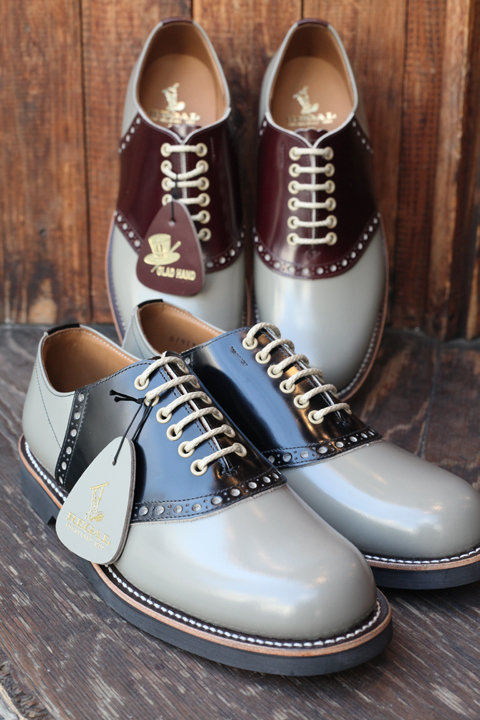 REGAL×GLAD HAND  「SADDLE SHOES - TWO TONE」  2TONE サドルシューズ