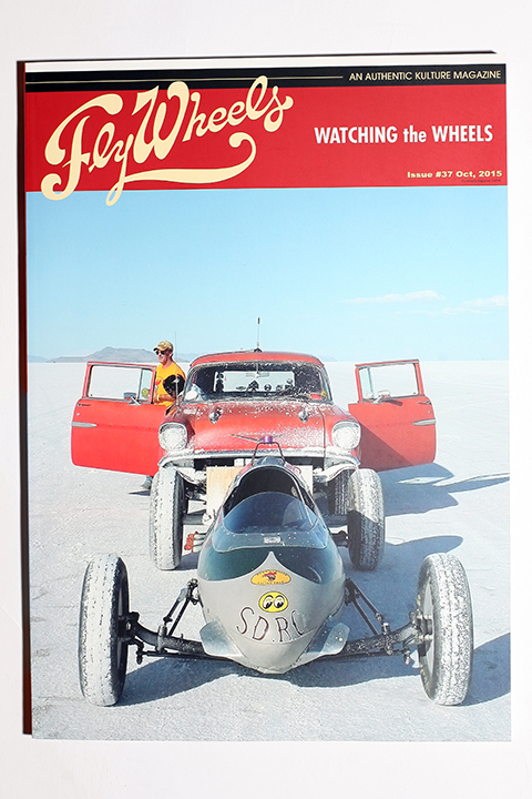 FLY WHEELS / フライホイール  「  FLY WHEELS ISSUE # 37 」 雑誌