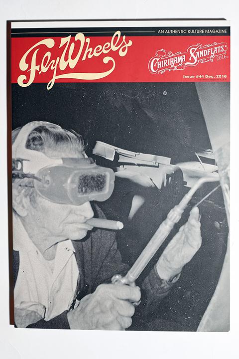 FLY WHEELS / フライホイール  「  FLY WHEELS ISSUE # 44」 雑誌