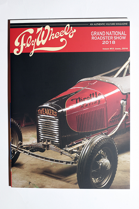 FLY WHEELS / フライホイール  「  FLY WHEELS ISSUE # 53」 雑誌