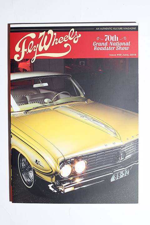 FLY WHEELS / フライホイール  「  FLY WHEELS ISSUE # 59」 雑誌
