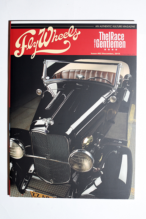 FLY WHEELS / フライホイール  「  FLY WHEELS ISSUE # 62 」 雑誌