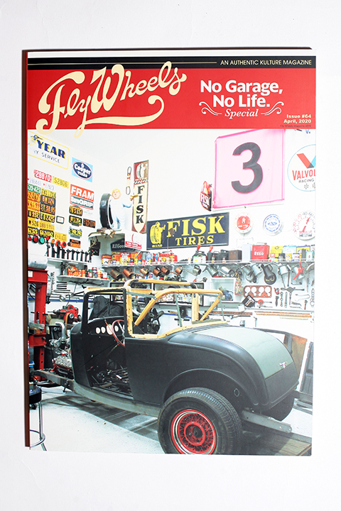 FLY WHEELS / フライホイール  「  FLY WHEELS ISSUE # 64 」 雑誌