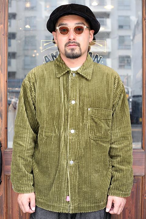 NASTOYS / ナストイズ  「Corduroy Over Shirt Jacket」   コーデュロイオーバーシャツジャケット