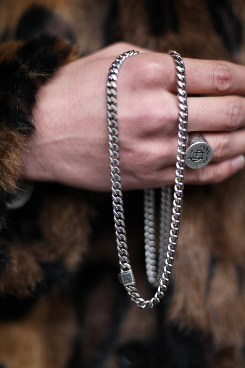 GLAD HAND JEWELRY/グラッドハンドジュエリー  「NARROW CHAIN NECKLACE」 ナローチェーンネックレス