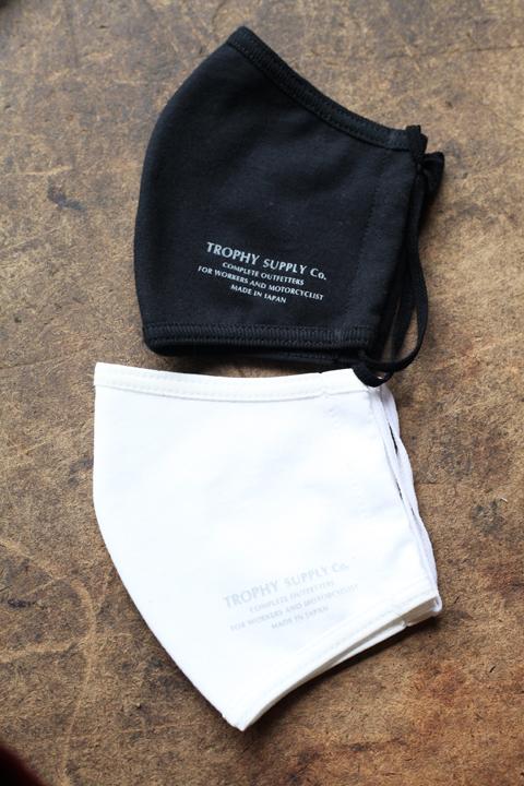 TROPHY CLOTHING/トロフィークロージング  「Trophy Cotton Mask」  コットンマスク 2枚SET
