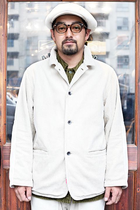 NASTOYS / ナストイズ  「 Corduroy Sack Coat 」  コーデュロイサックコート