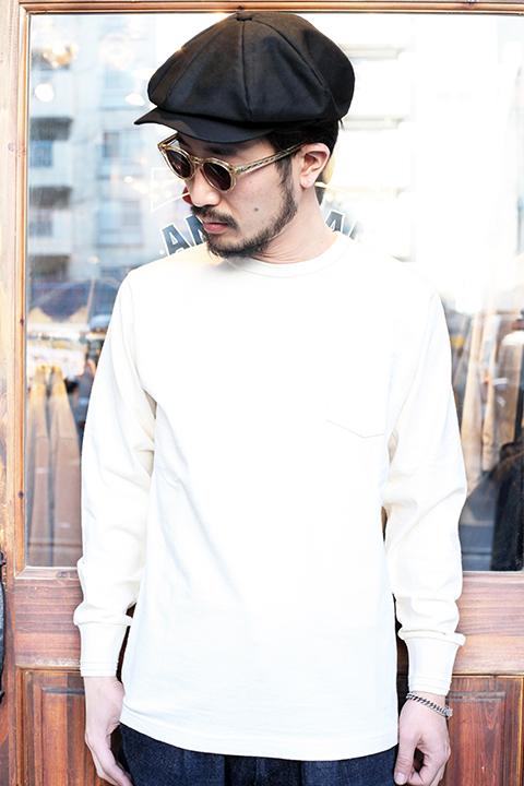 TROPHY CLOTHING/トロフィークロージング  「 OD Pocket L/S Tee 」  ODポケットL/STシャツ