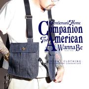 TROPHY CLOTHING × HARLEM STORE × AMERICAN WANNABE 「 Dirt Denim Game Bag 」 ダートデニムゲームバッグ