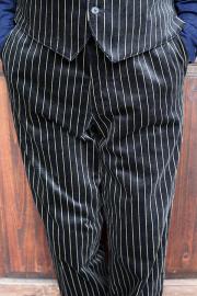 BLACK SIGN/ブラックサイン   「Noble Velveteen Butler Pants」  ベルベットバトラーパンツ
