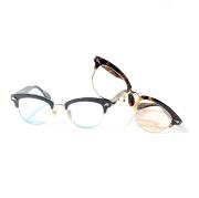 GROOVER/グルーバー 「THE WYMPER」 アセテート×メタル製眼鏡