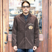 GANGSTERVILLE/ギャングスタービル 「DEAL WITH THE DEVIL - TOUR JACKET」 コーデュロイツアージャケット