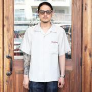 GANGSTERVILLE/ギャングスタービル 「JUNGLE PANTHER - S/S  WORK SHIRTS 」 リヨセルオープンカラーシャツ