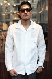 GANGSTERVILLE/ギャングスタービル   「SPEAKEASY - L/S SHIRTS」  オープンカラーシャツ