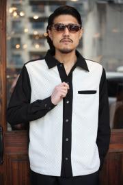 GANGSTERVILLE/ギャングスタービル   「GAMBLER - L/S SHIRTS」  ギャンブラーシャツ