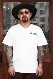 WEIRDO/ウィアード   「WEIRDO DAILY - S/S V-NECK T-SHIRTS」   Vネックティーシャツ