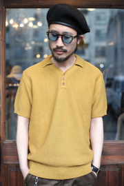 TROPHY CLOTHING/トロフィークロージング   「Red Cross Summer Polo」  ニットポロシャツ